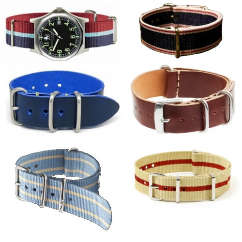 NATO Watch Straps Smart Turnout DubStraps DaLuca Leathers J.Crew Trivia The Knottery