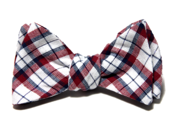 Starboard Clothing Patriot Plaid Bow Tie