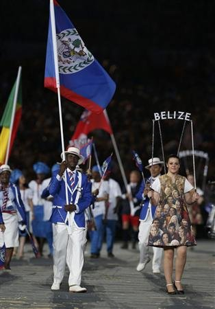 Belize 2012 Olympic Opening Ceremony