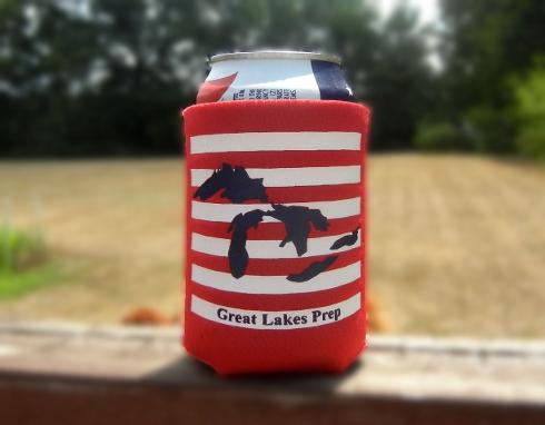 Great Lakes Prep American Koozie