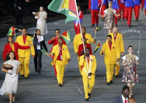 Guyana 2012 Olympic Opening Cermony