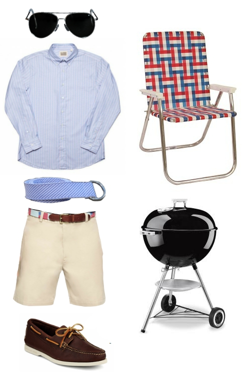 How to Dress for All American Cookout
