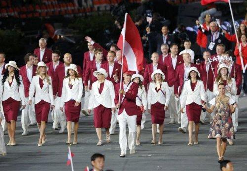 Latvia 2012 Olympic Opening Cermony