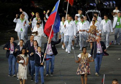 Liechtenstein 2012 Olympic Opening Cermony