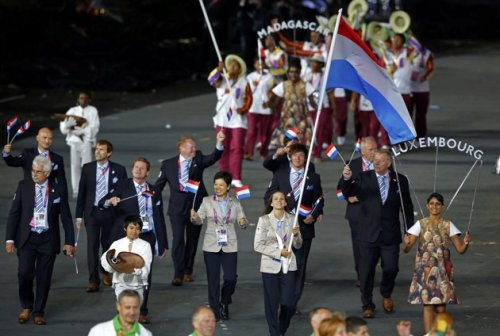 Luxembourg 2012 Olympic Opening Cermony