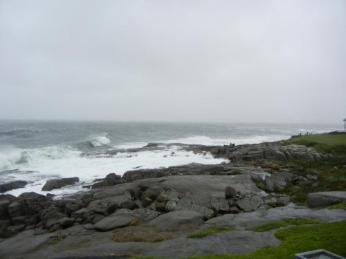 Rocky Maine Shore Cape Neddick Light