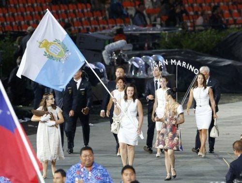 San Marino 2012 Olympic Opening Ceremony