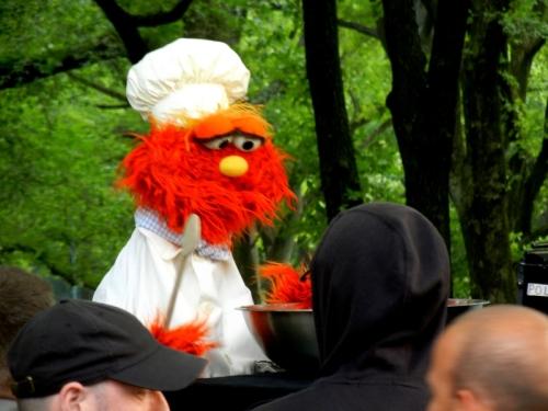 Sesame Street Taping Central Park