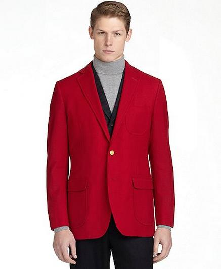 Social Primer for Brooks Brothers Tailgate Blazer Red