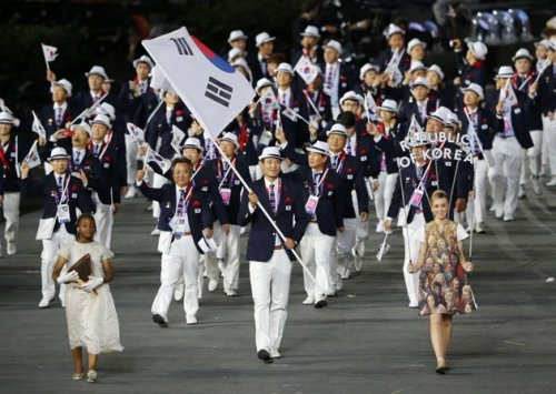 South Korea 2012 Olympic Opening Cermony