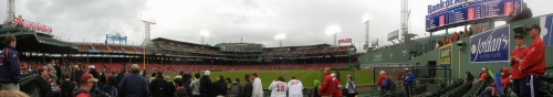 Fenway Park Panorama Red Sox