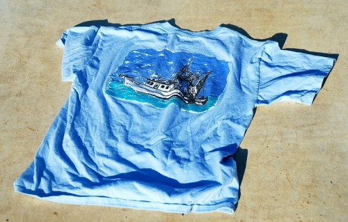 Gulf Shore Spare Time T-Shirt Back