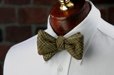 High Cotton Ties Darden Woolie Bow Tie