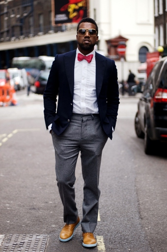 Kanye West Bow Tie