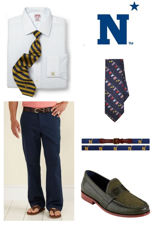How to Dress for Navy Football Game