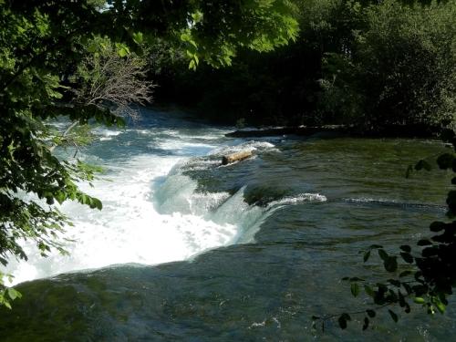 Niagara Falls Upriver