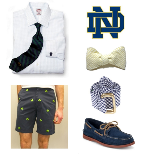 How to Dress for Notre Dame Game