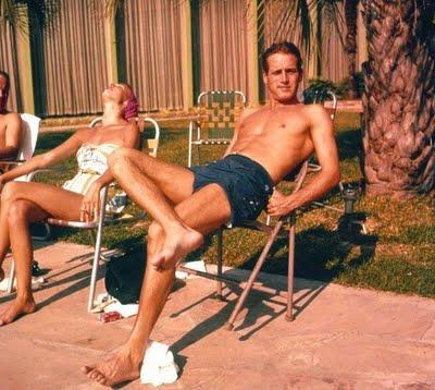 Paul Newman Short Shorts