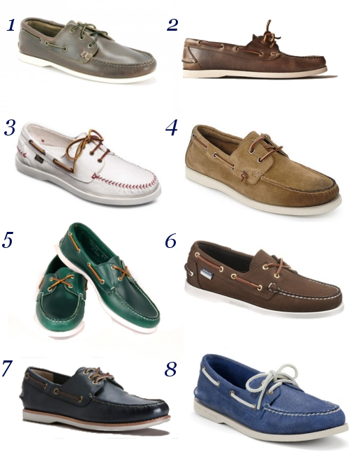 Prep Work Boat Shoes Quoddy Oak Street Bootmakers Allen Edmonds Eastland Rancourt & Co. Sebago Frye Sperry Top-Sider