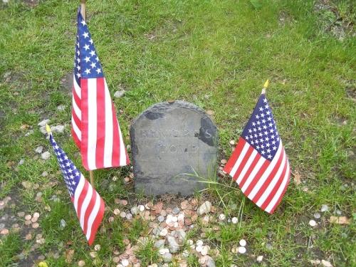 Paul Revere's Tomb Gravestone