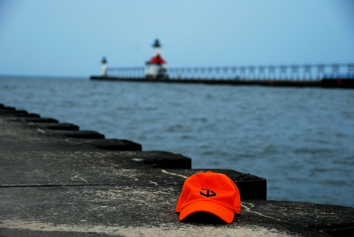 Starboard Clothing Statement Cap Pier Lighthouse