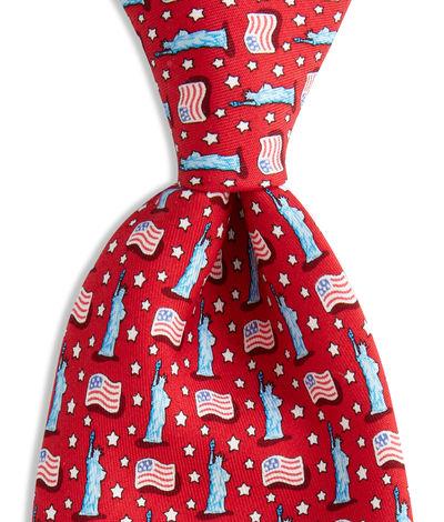 Vineyard Vines USA National Flag Tie
