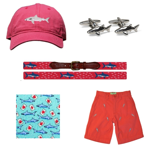 Shark Week Harding Lane Brooks Brothers Smathers & Branson Peter-Blair Castaway Clothing