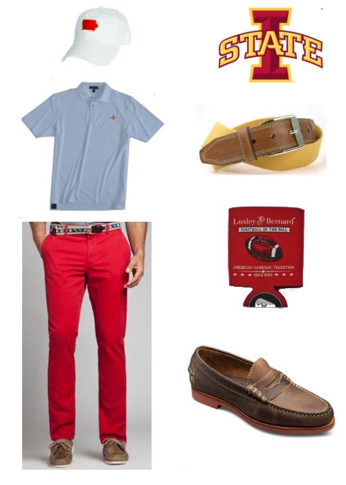 How to Dress for Iowa State Cyclones Football Game State Traditions Peter Millar Bonobos Martin Dingman Luxley & Bernard Allen Edmonds