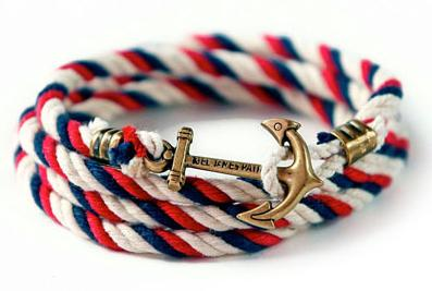 Kiel James Patrick Jack Fitz Lanyard Collection Bracelet