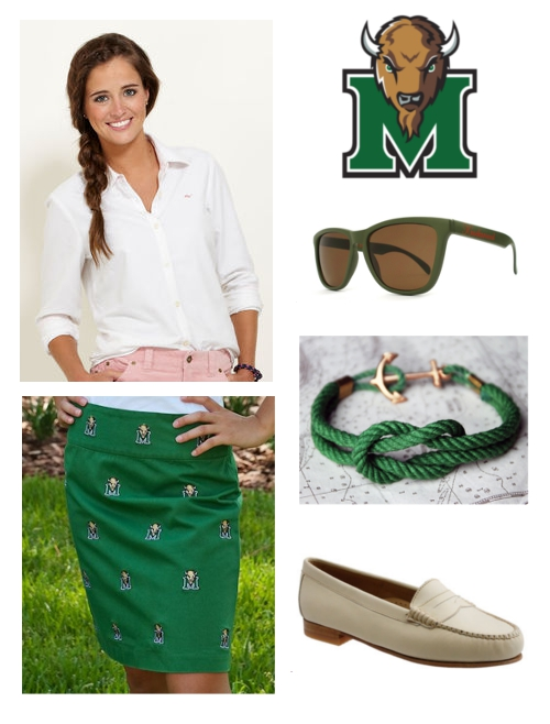 How to Dress for Battle of the Bell Marshall Thundering Herd Vineyard Vines Pennington & Bailes Knockaround Kiel James Patrick G.H. Bass
